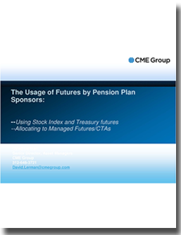 usage of futures by pension plans institutional